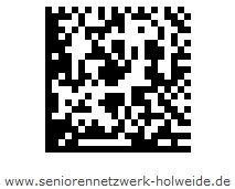 Barcode SeniorenNetzwerk Holweide