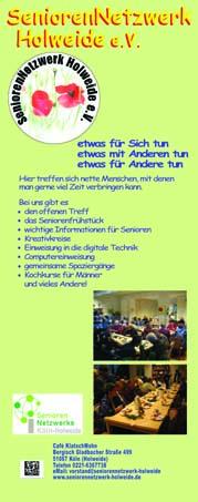 Werbe-Rollup SeniorenNetzwerk Holweide e.V.
