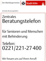 Beratungstelefon Köln